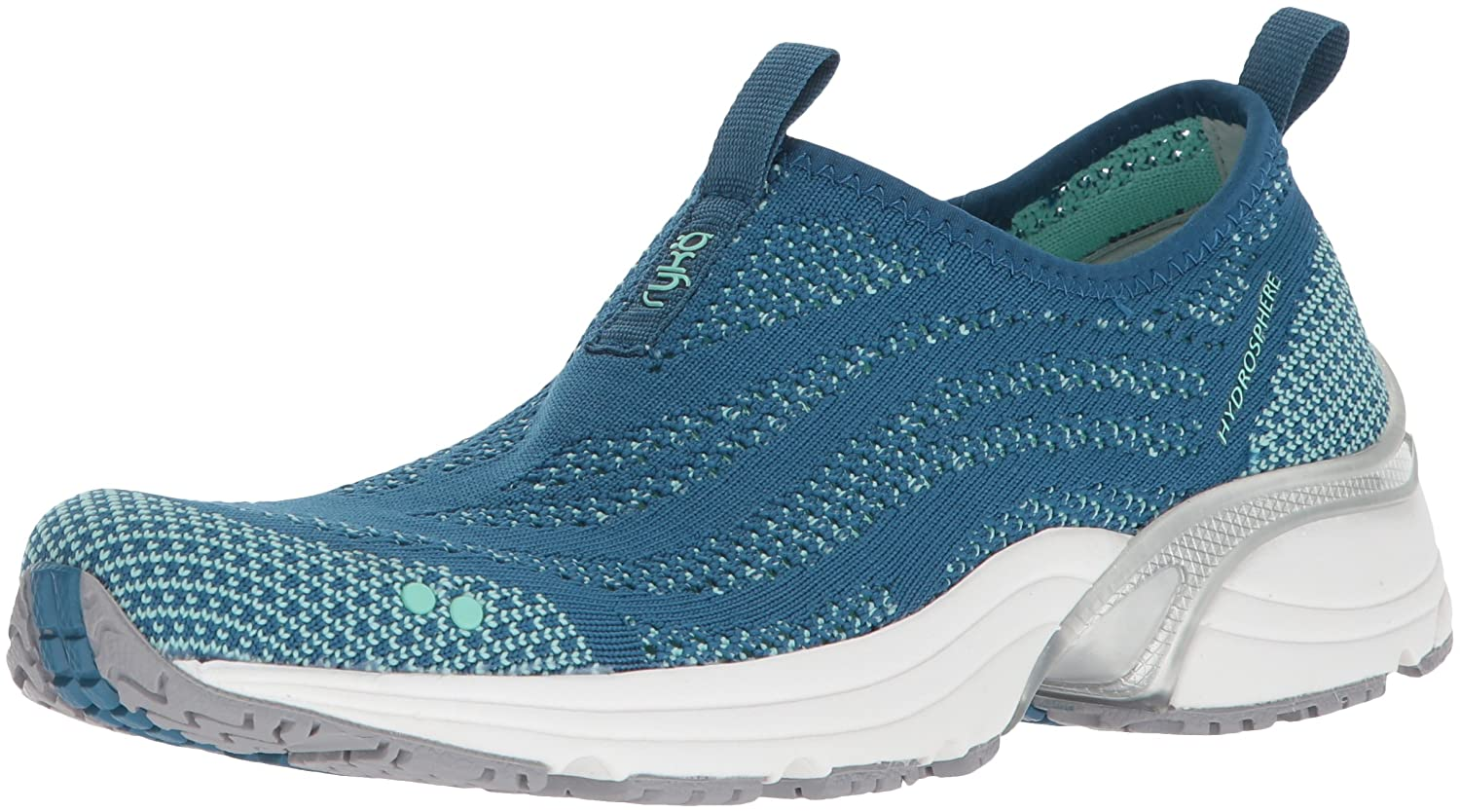 Ryka Women's Hydrosphere Cross Trainer B0757PD7DF 7 B(M) US|Seaport/Yucca Mint