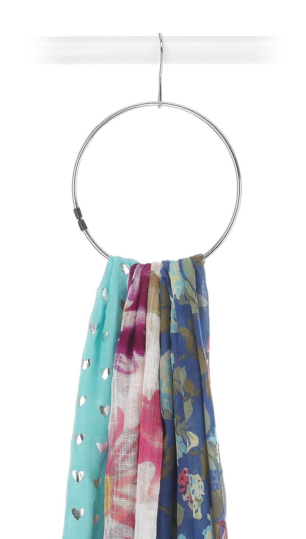 Whitmor Ebony Chrome Belt Hanger