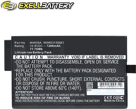 Batterie 7200mAh type 989803135861 M4605A Pour Philips FM30