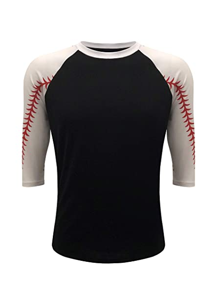 c499283b Amazon.com: ILTEX Baseball Softball Raglan Tshirt Jersey Kids ...