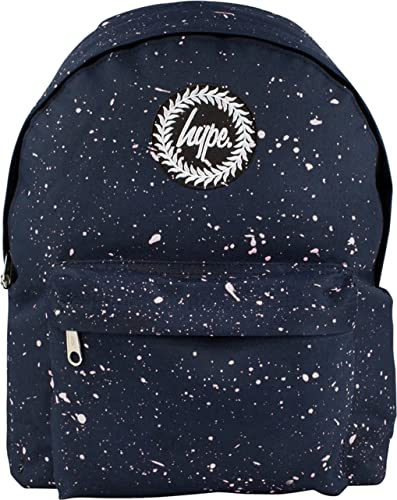 a657698ea1e5 Hype Speckled Backpack Rucksack Bag Navy White  Amazon.co.uk  Shoes ...