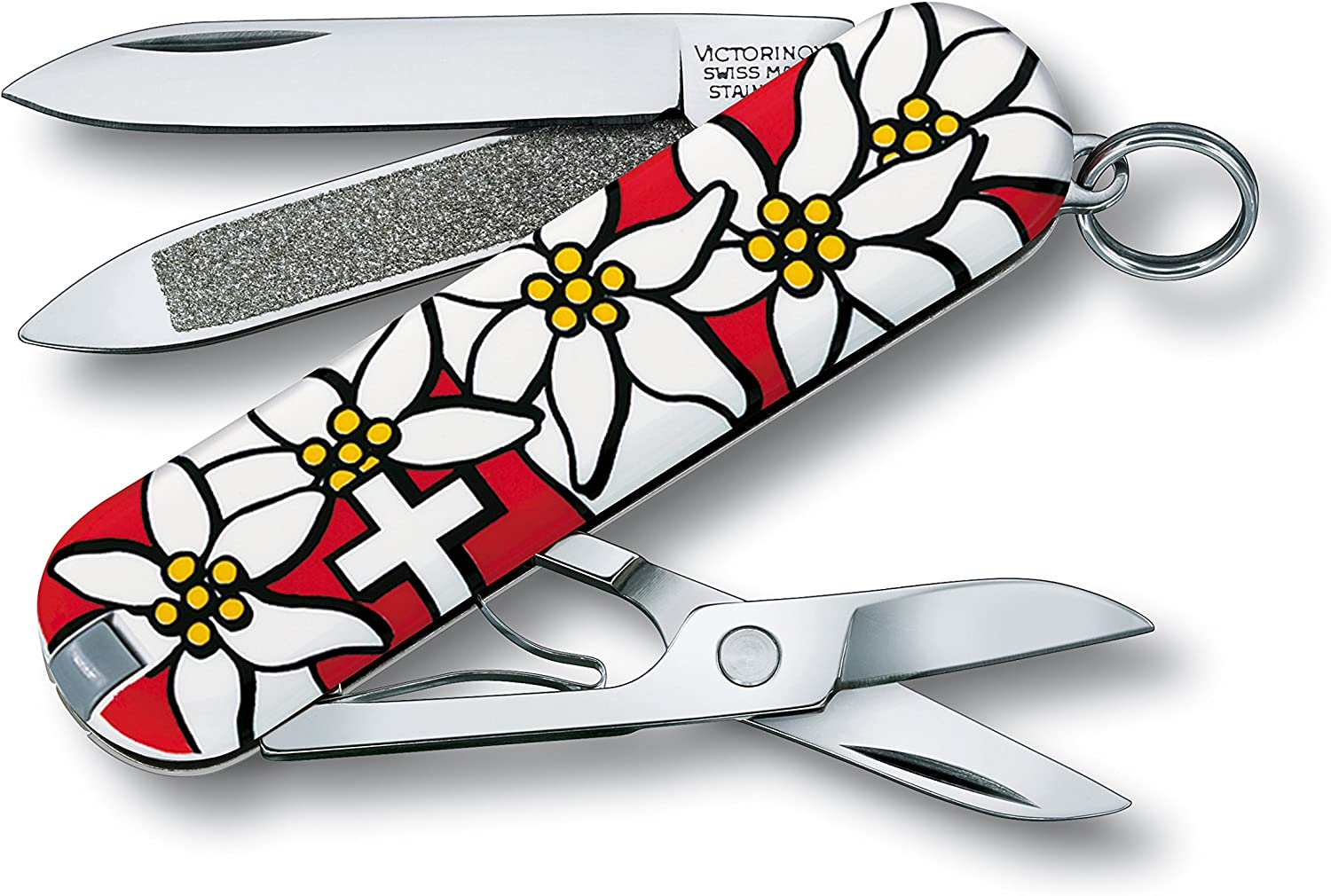 7. Victorinox Swiss Army Classic Pocket Knife