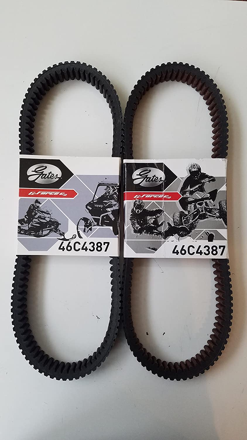 Gates Drive Belt for 2015-18 Polaris Axys (46C4387) by Gates 2-Pack