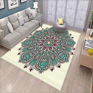 Amazon Com Mandala Decor Collection Bedroom Floor Mat