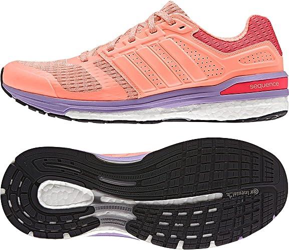 Adidas Supernova Sequence Boost 8 W Zapatillas de Running, Mujer