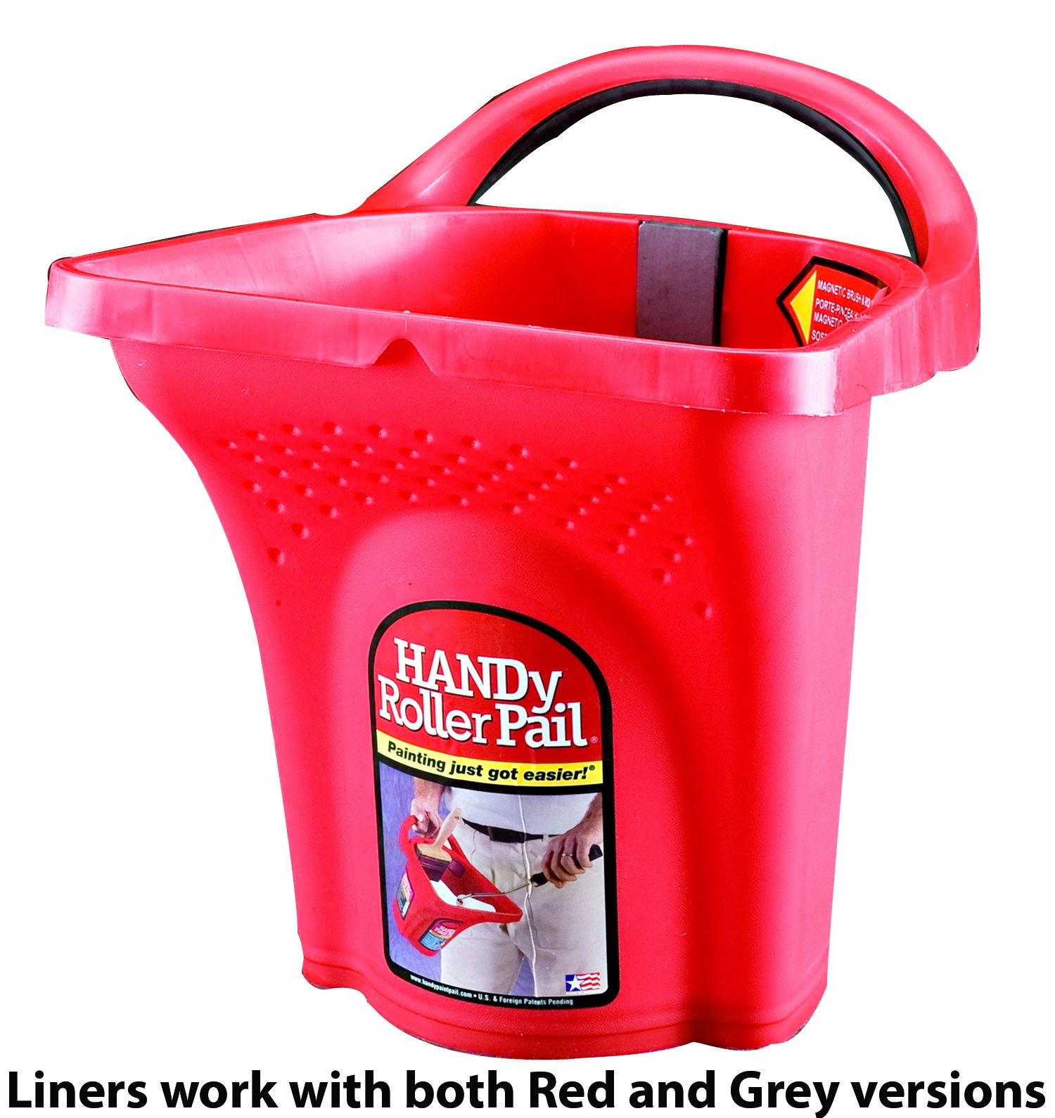 HANDy Roller Pail Liners - Bulk 25 Pack by Handy Paint Pail