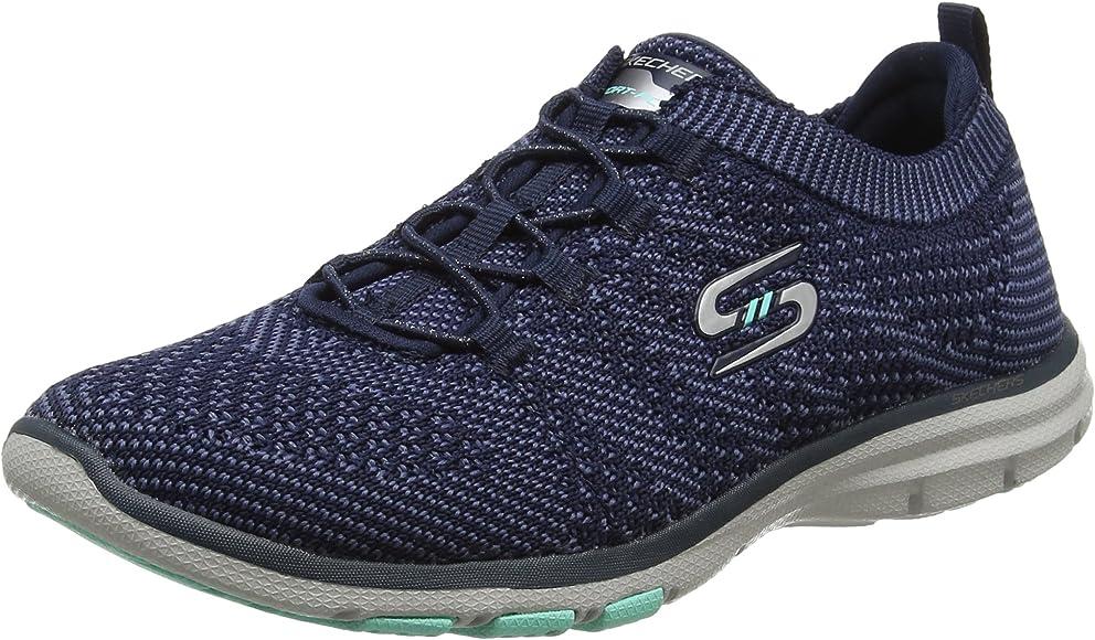 Skechers Galaxies, Sneakers Basses Femme, Bleu (Navy 22882