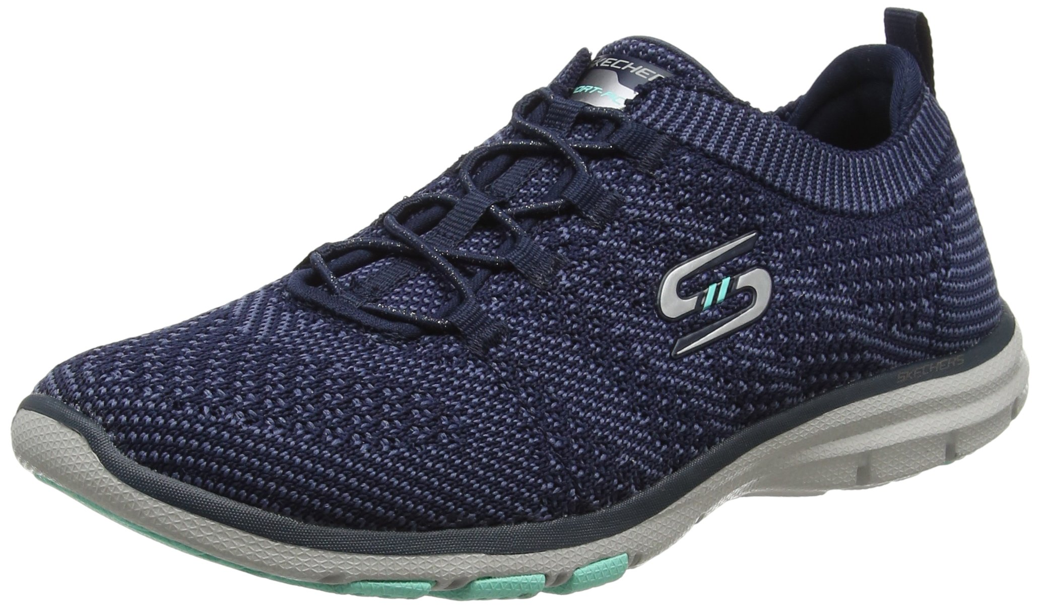 Skechers Galaxies Womens Slip On Sneakers Navy/Blue 6.5