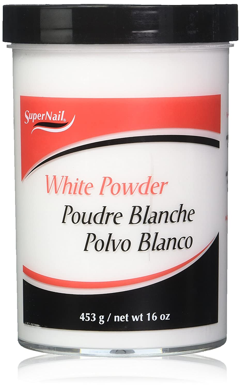 Supernail Nail Powder, Clear, 16 Ounce : False Nails : Beauty