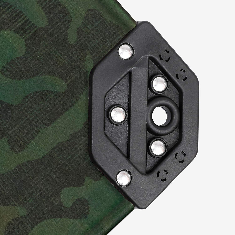Park Ridge Products TRP0420CAMO Park Ridge 4 x 20 ft Heavy-Duty CAMO Reversible Poly 10 mil Tarp All All Purpose 4x20 Green