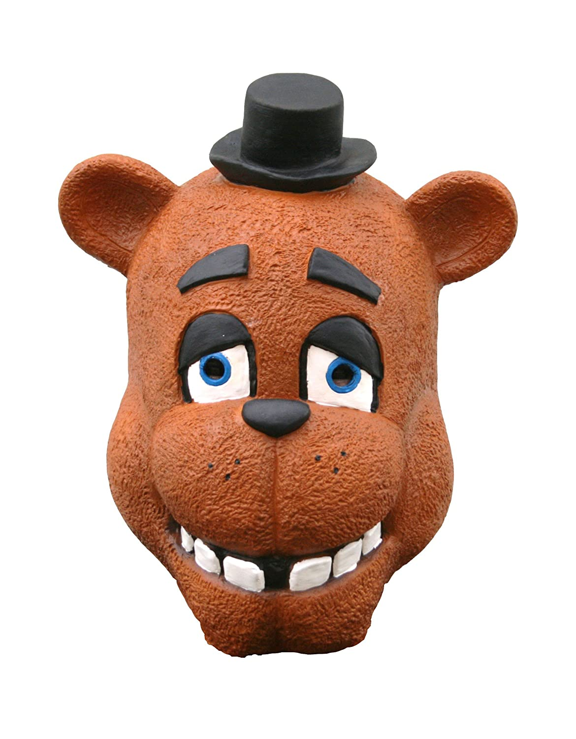 Adultos látex Freddy Fazbear Five Nights at Freddy s Máscara FNAF de Cosplay disfraz para adulto: Amazon.es: Ropa y accesorios