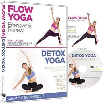Amazon.com: Flow Yoga / Detox Yoga - 2 DVD Box Set with Amy ...