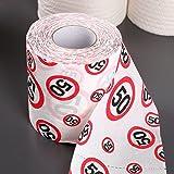Toilettenpapier 50 Jahre Geschenk für den Geburtstag Länge 25m Klopapier