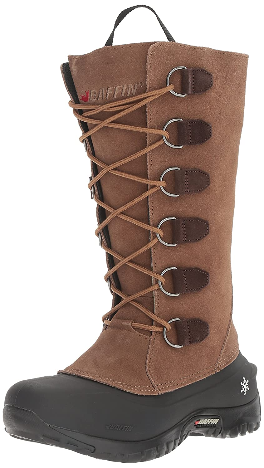 Baffin Women's Coco Insulated Suede Winter Boot B00HNTP1KK 9 B(M) US|Taupe