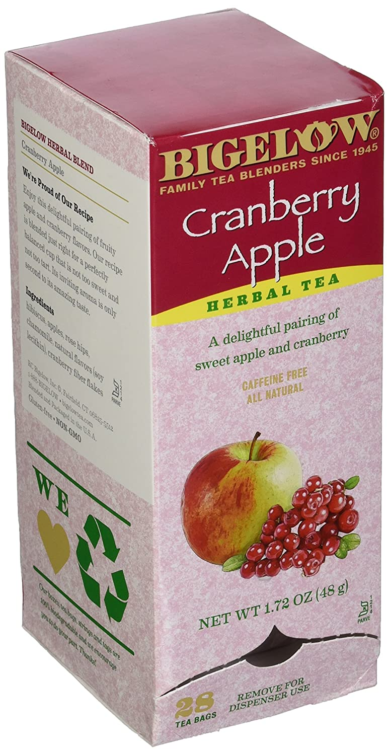 Bigelow Cranberry Apple Tea (Box of 28)