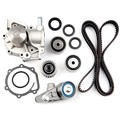SCITOO Timing Belt Water Pump Gasket Tensioner Kit Fit 1999-2005 Subaru Legacy Outback Forester Impreza EJ251 EJ252 EJ253 EJ22 2.2L 2.5L: Automotive