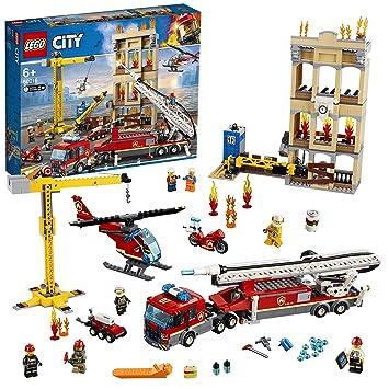 LEGO City - Fire Brigada Distrito Centro, Juguete Divertido y ...