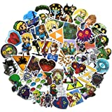 47PCS The Legend of Zelda Ocarina of Time Stickers Game Stickers Laptop Computer Bedroom Wardrobe Car Skateboard Motorcycle B