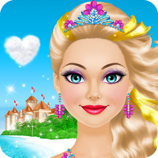Tropical Princess Salon: Spa, Makeup and Dress Up Makeover - girly girl (Tropical Games)