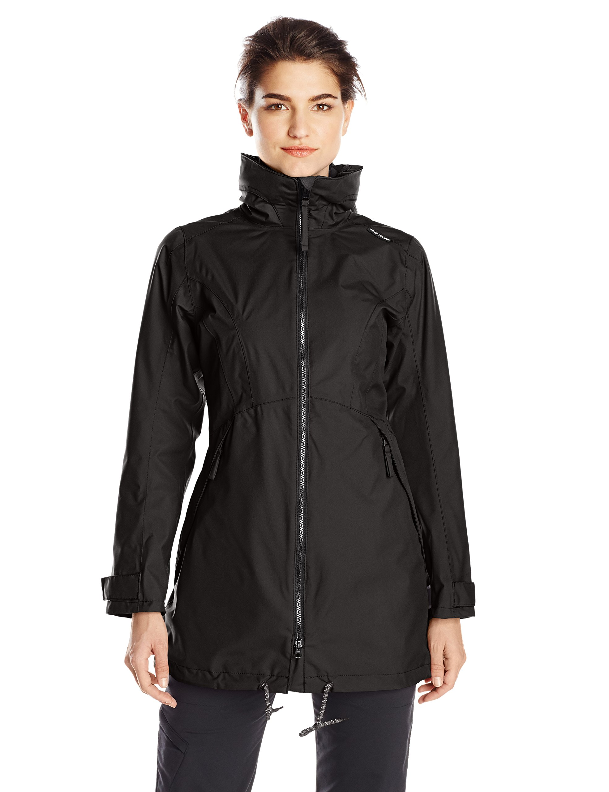 Helly Hansen Women's Laurel Long Jacket, Black, Medium