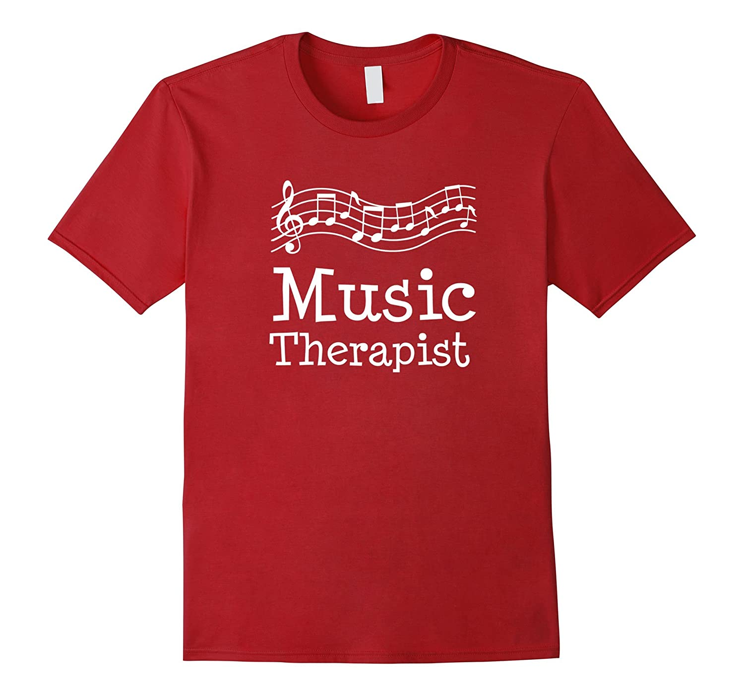 Music Therapist Shirt Musical Therapy Job Gift-TD