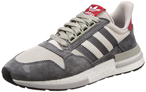 6896379fea69d Adidas Men s Zx 500 Rm Grefou Ftwwht Scarle Running Shoes-11 UK ...