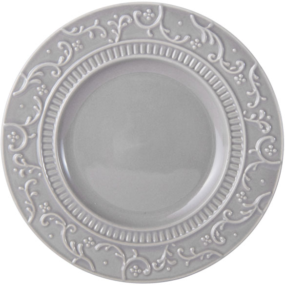 Italian Countryside Accents Scroll Grey Appetizer Plate online at Mikasa.com