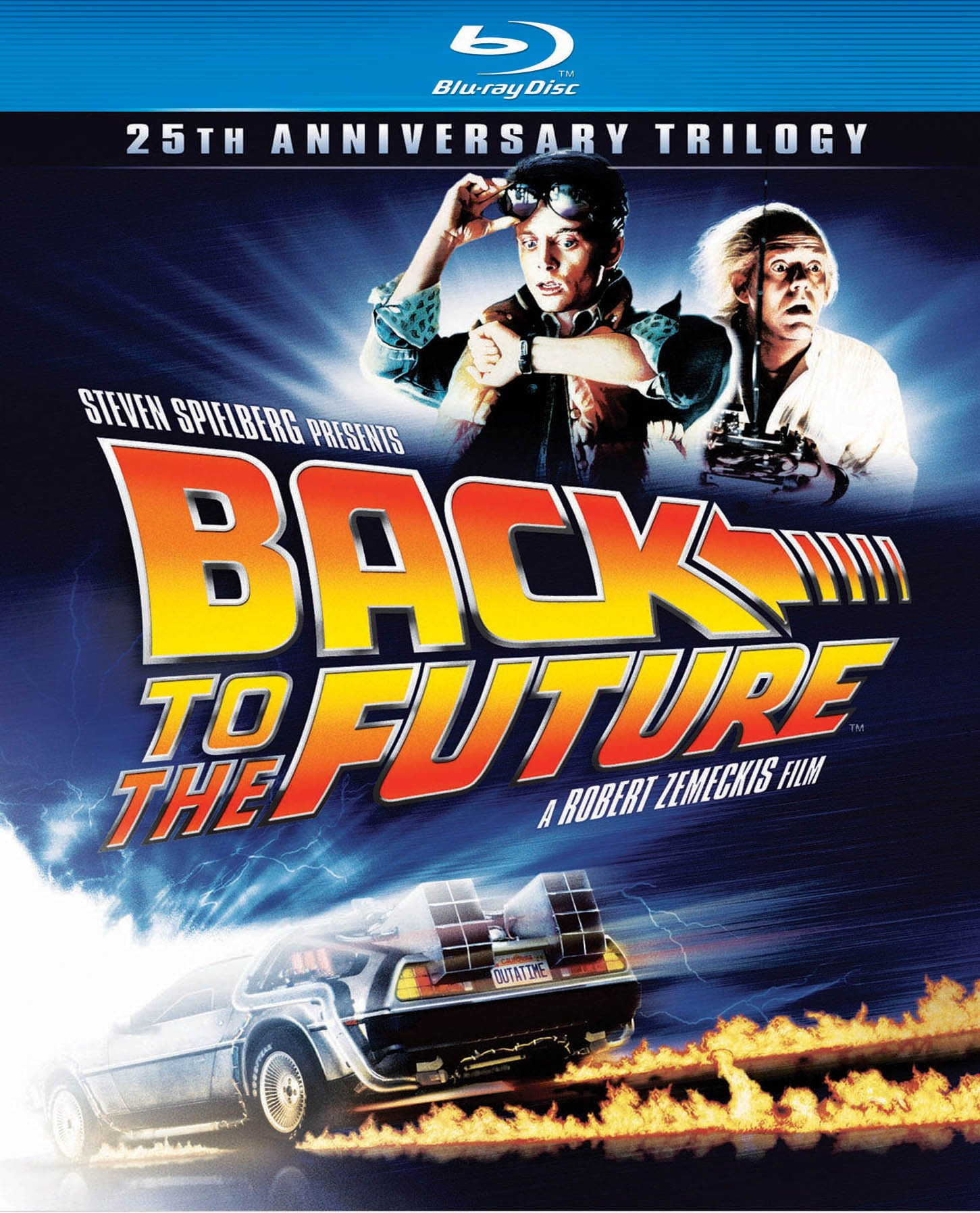 Blu-ray : Back to the Future: 25th Anniversary Trilogy (Anniversary Edition, , Widescreen, Dubbed, Dolby)