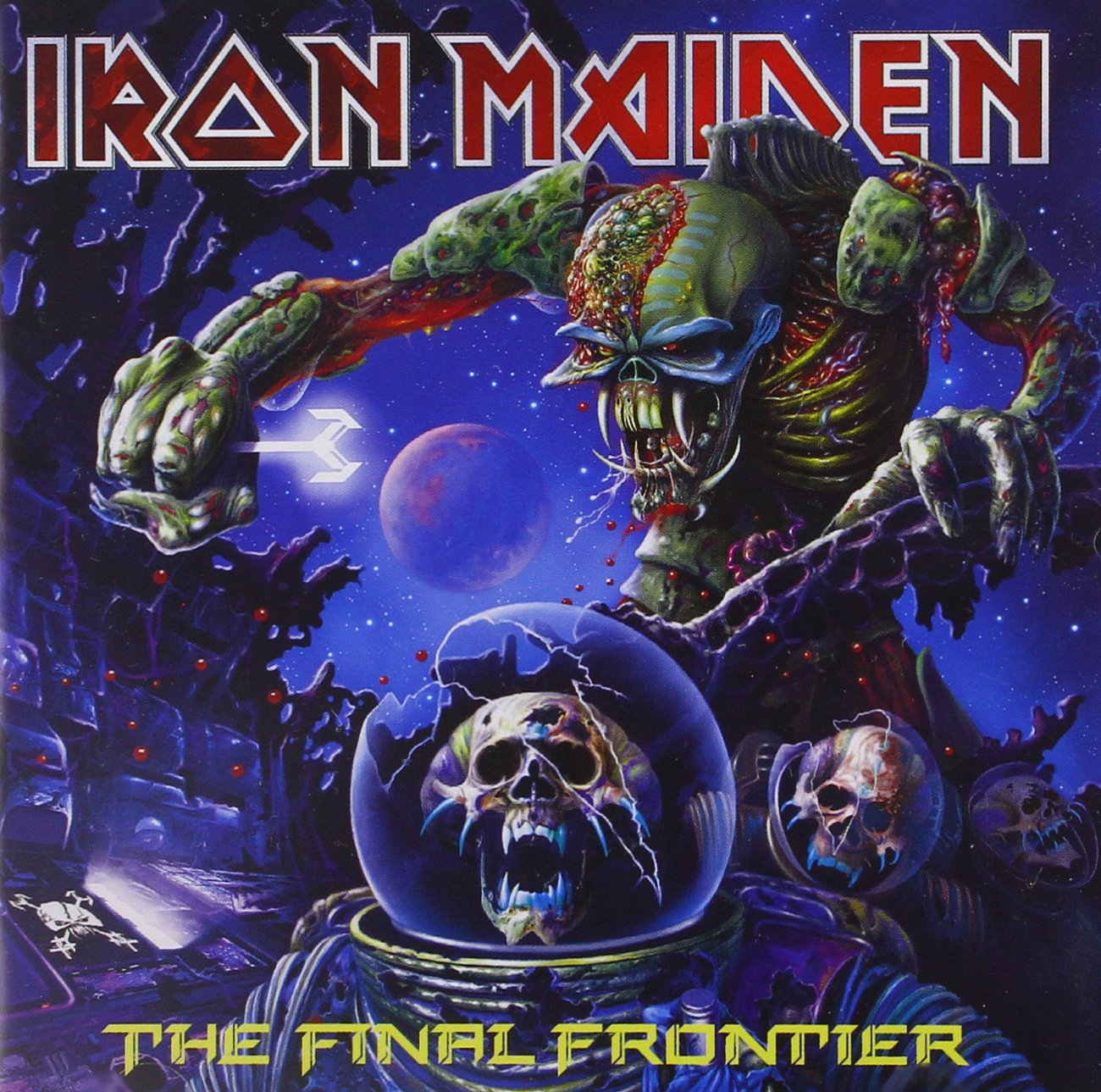 3aa566ea The Final Frontier by Iron Maiden: Amazon.co.uk: Music