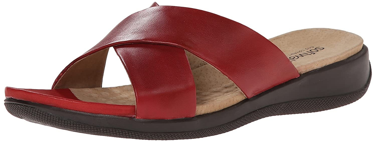 Red SoftWalk Women's Tillman Dress Sandal
