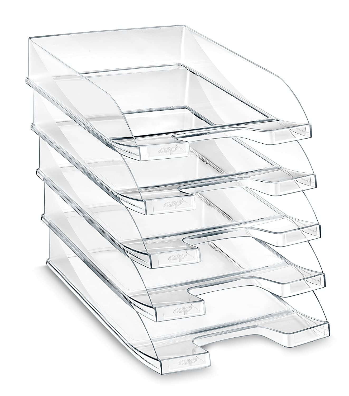 Trasparente Cep 100F Vaschetta Portacorrispondenza Confezione da 10 pezzi