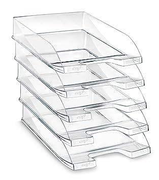 CEP Basics - Lote de 6 bandejas, color cristal