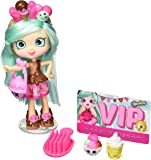 Shopkins Shoppies Bundle, Set of 4: Peppa-Mint, Jessicake, Bubbleisha, Popette