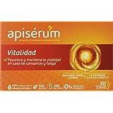 Apisérum Vitalidad Cápsulas - Jalea Real y 12 Vitaminas - Multivitamínico
