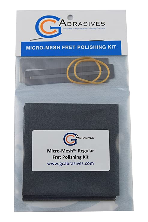 Micro-Mesh Fret Polishing Kit: Amazon.co.uk: Musical Instruments