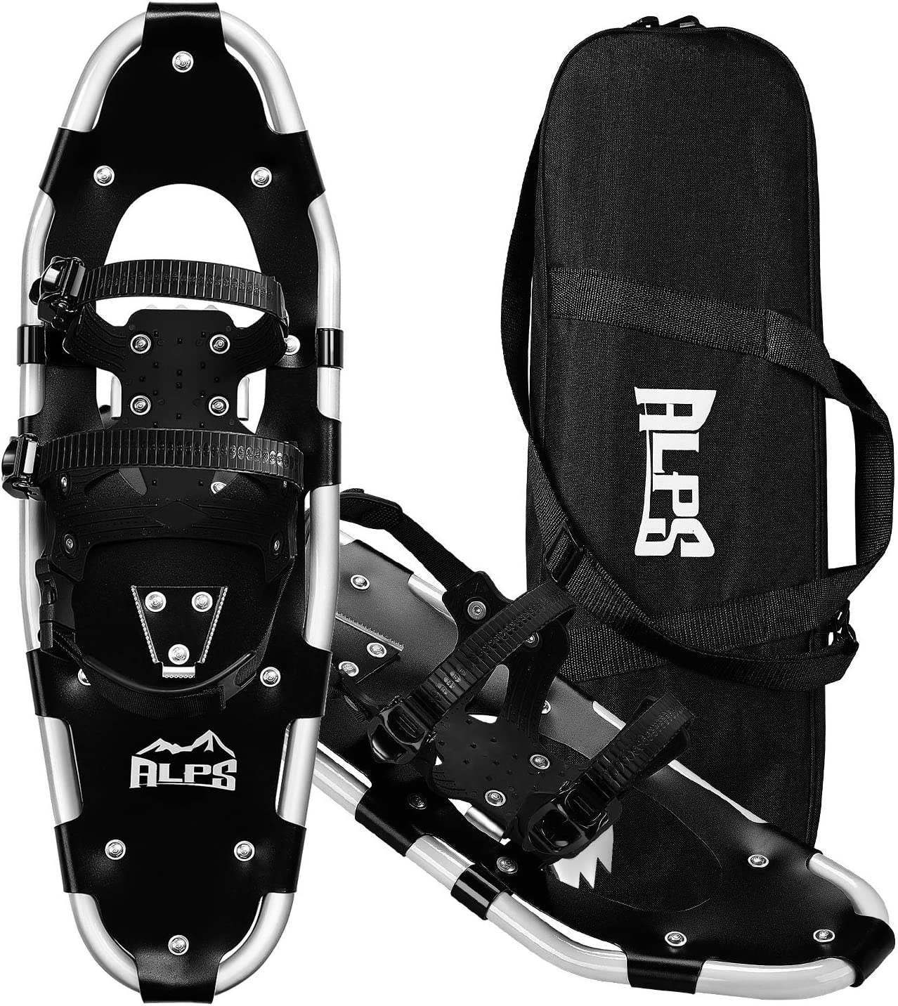 "ALPS Adult All Terrian Snowshoes for Men,Women,Youth with Carrying Tote Bag 22""/25""/27""/30"""