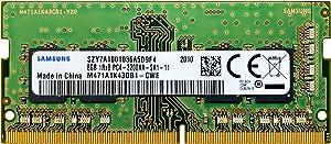 Samsung 8GB DDR4 3200MHz SODIMM PC4-25600 CL22 1Rx8 1.2V 260-Pin SO-DIMM Laptop Notebook RAM Memory Module M471A1K43DB1-CWE