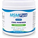 Kala Health Msmpure Fine Powder, Fast Dissolving Organic Sulfur Crystals, 99% Pure Distilled Msm Supplement, 8.8 Oz
