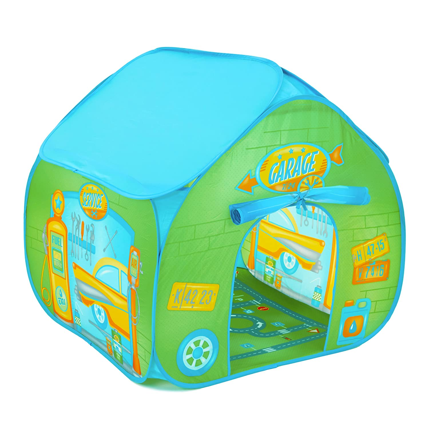 Fun2Give Garage Retro Play Tent Flat River Group F2PG16801