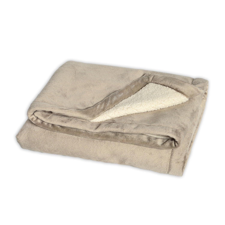 JJ Cole BundleMe Throw Blanket, Graphite J00429