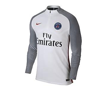Nike PSG M Nk Strke Dril Camiseta de Manga Larga Paris Saint Germain ... 66afe5e2c4247