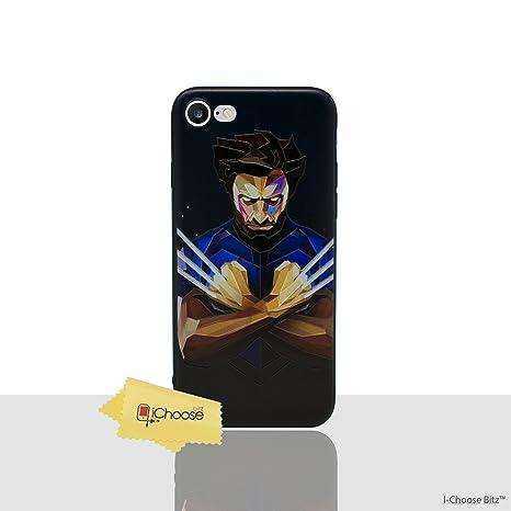 coque iphone 7 wolverine