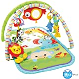 Fisher Price, Gimnasio Musical 3 en 1 Amigos de la Naturaleza