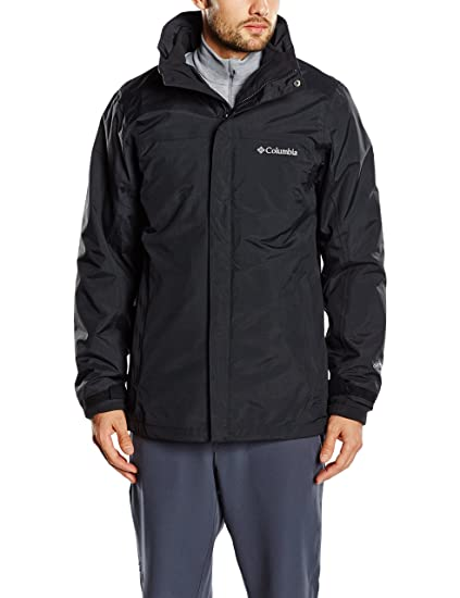Columbia Mission Air Interchange Jacket Small Black Black