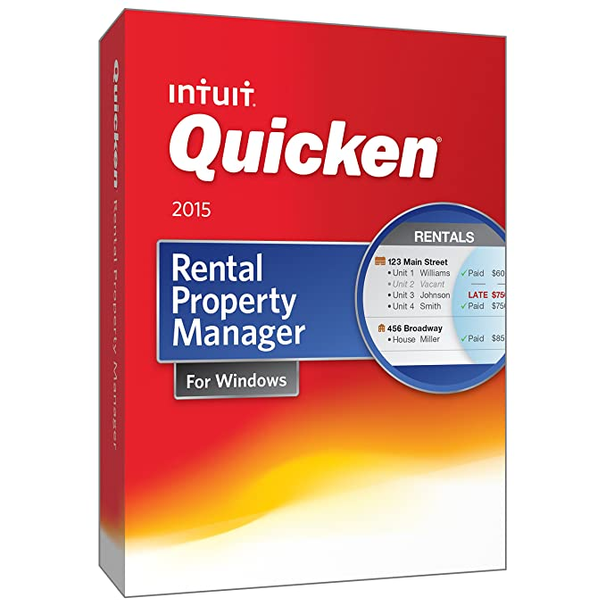 intuit quicken rental property manager