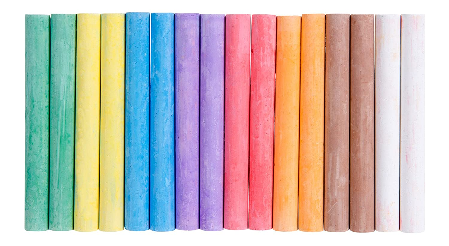 RoseArt Color Chalk, 16-Pieces, Assorted Colors, Packaging May Vary (CXY77)