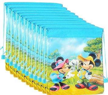 12 Pcs Asera Mickey Minnie Backpack Sack Bag Dori Birthday Return Gifts