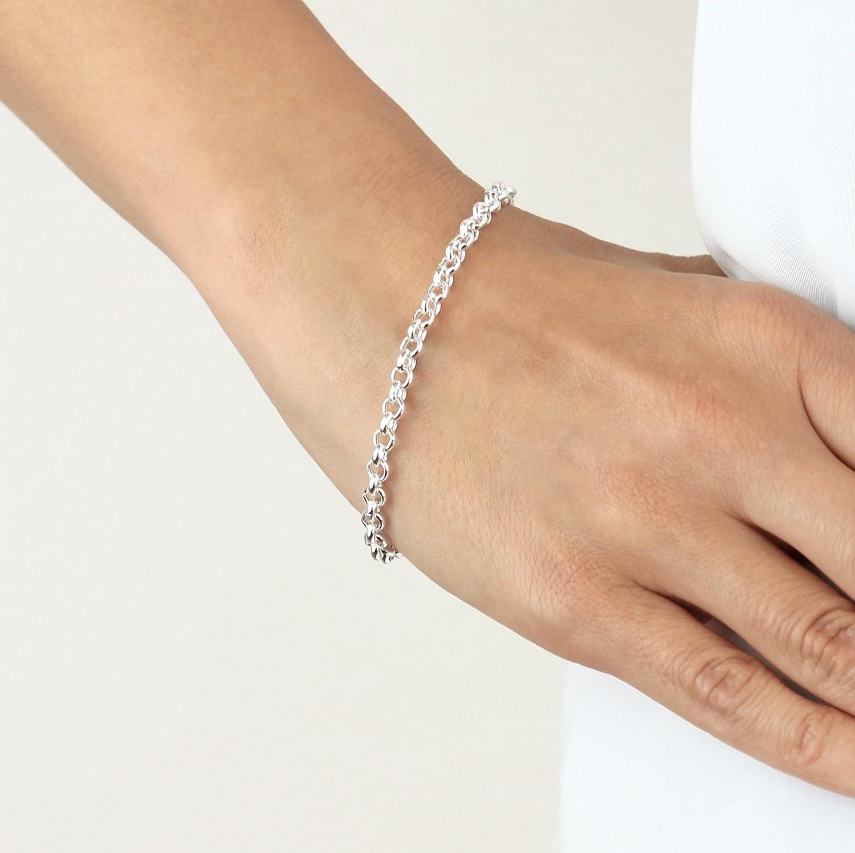 Tuscany Silver 8.24.6012 - Pulsera de plata de ley (925/1000): Amazon.es: Joyería