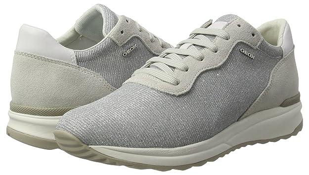 Geox d ophira e scarpe da ginnastica basse donna amazon shoes grigio primavera