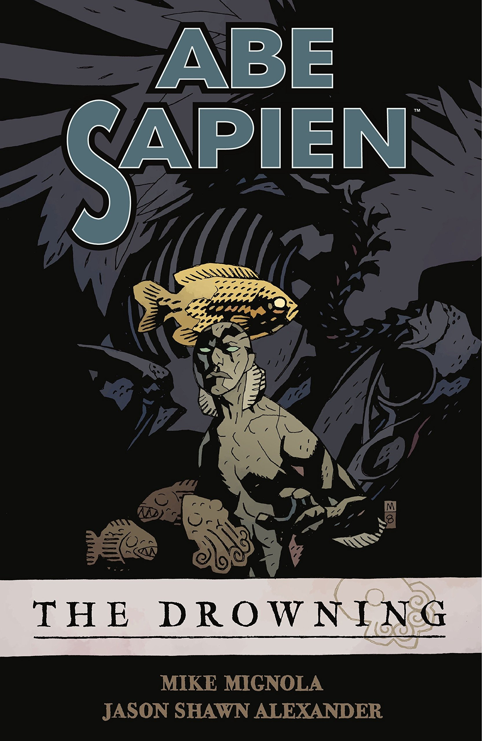 Image result for abe sapien the drowning
